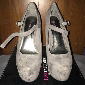 Grey Women's stilettos!